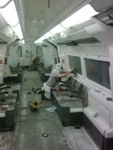 renowacja szyb - metro Londyn