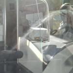 rysy na szybach autobusach warszawskich