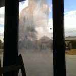 polerowanie szyb okiennych